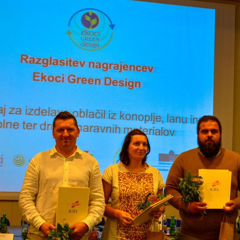 Podelitev priznanj EKOCI Green Design